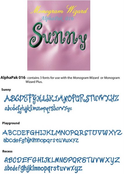 Sunny/Playground/Recess Fonts