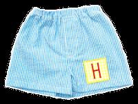Seersucker Boxer Shorts