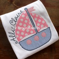 Appliqued Girls Shirts
