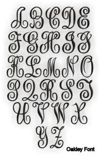 Oakley Font