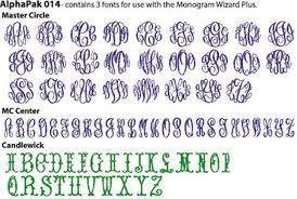 Master Circle Font