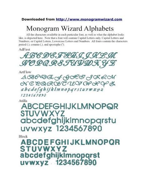 MW Fonts 1