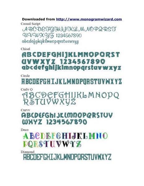 MW Fonts 2
