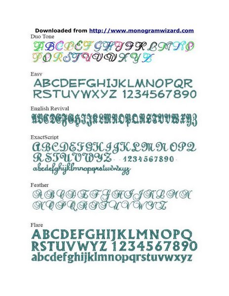 MW Fonts 4