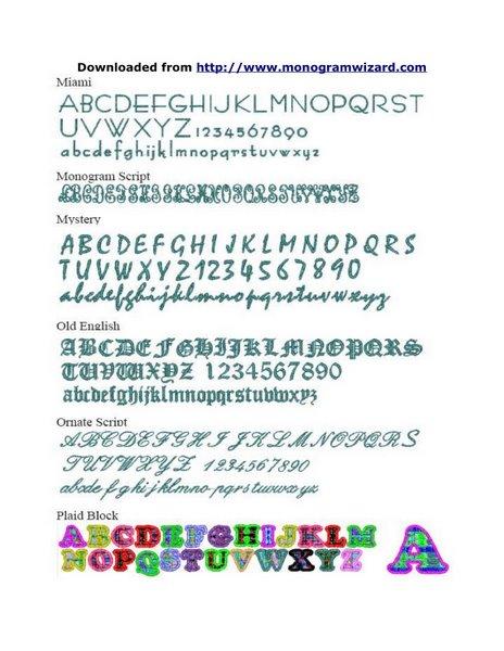 MW Fonts 7